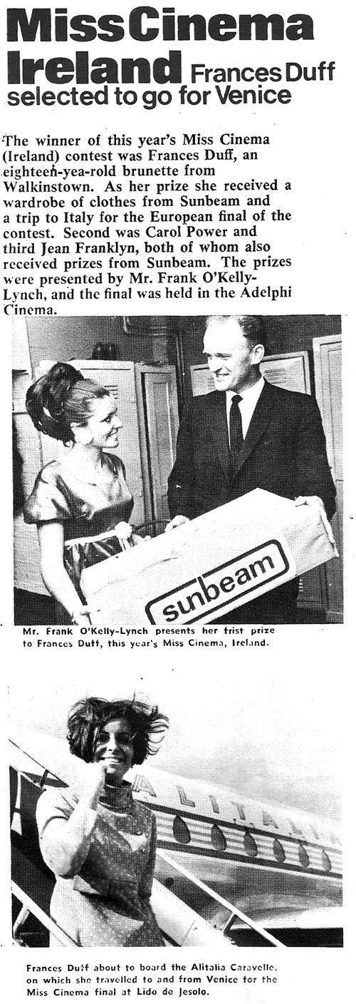 Frances-Duff-Walkinstown-Miss-cinema-1967