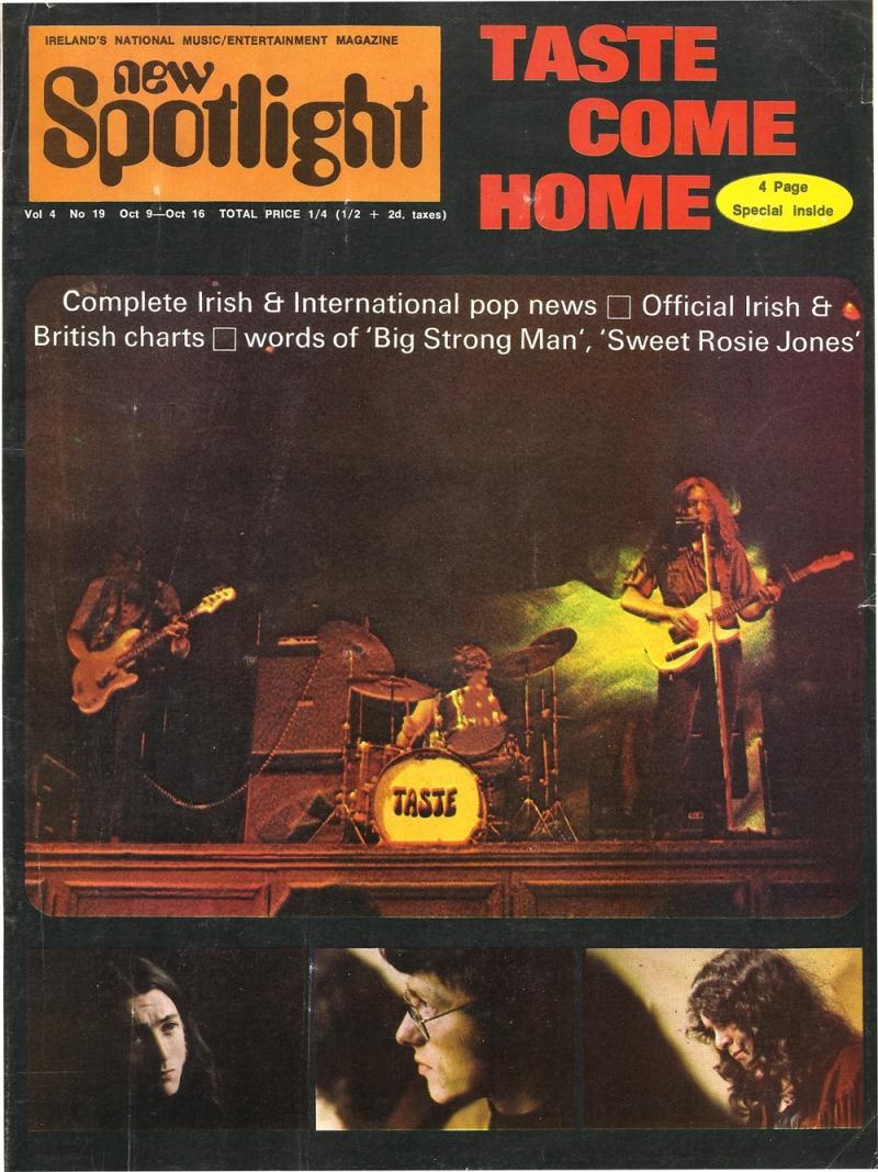 Taste Mk 2 (1968-1970) - Page 16 Cover