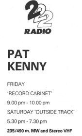 pat-kenny- back of photo promo 2fm card circa 1980