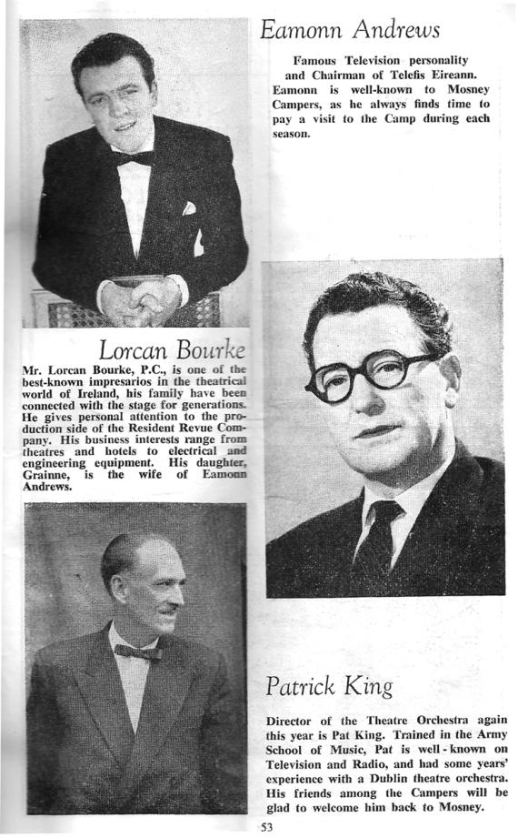 eamonn andrews butlins mosney 1965