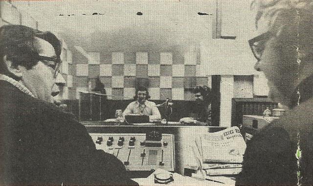 Disc a Gogan - with Larry, Ian Corr and Producer Tony Gaynor
