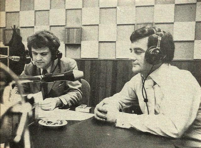 Ken Stewart - Larry Gogan - 1970 RTE Radio