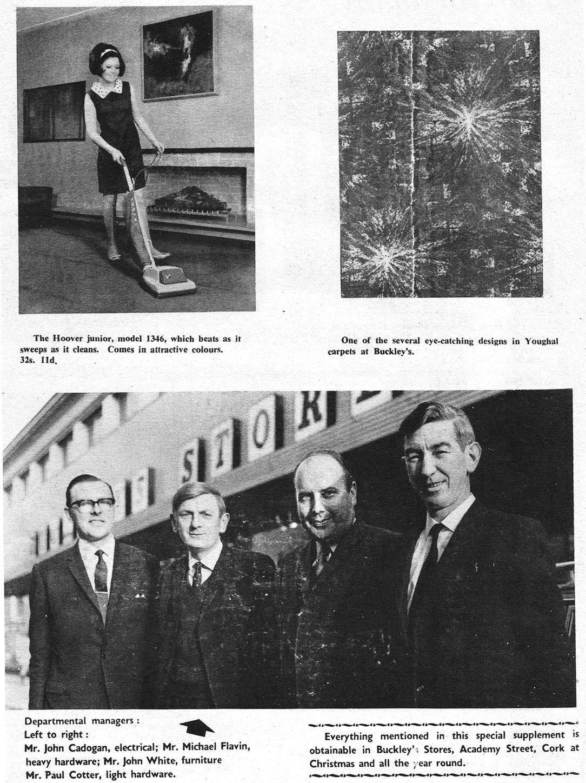 managers-buckleys cork 1969