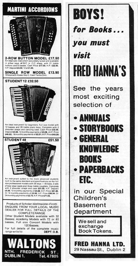 hannas book shop-waltons accordion-1972