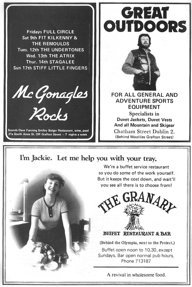 mcgonagles advert