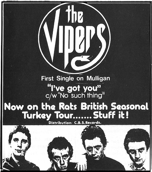 vipers-first-single-1978-advert