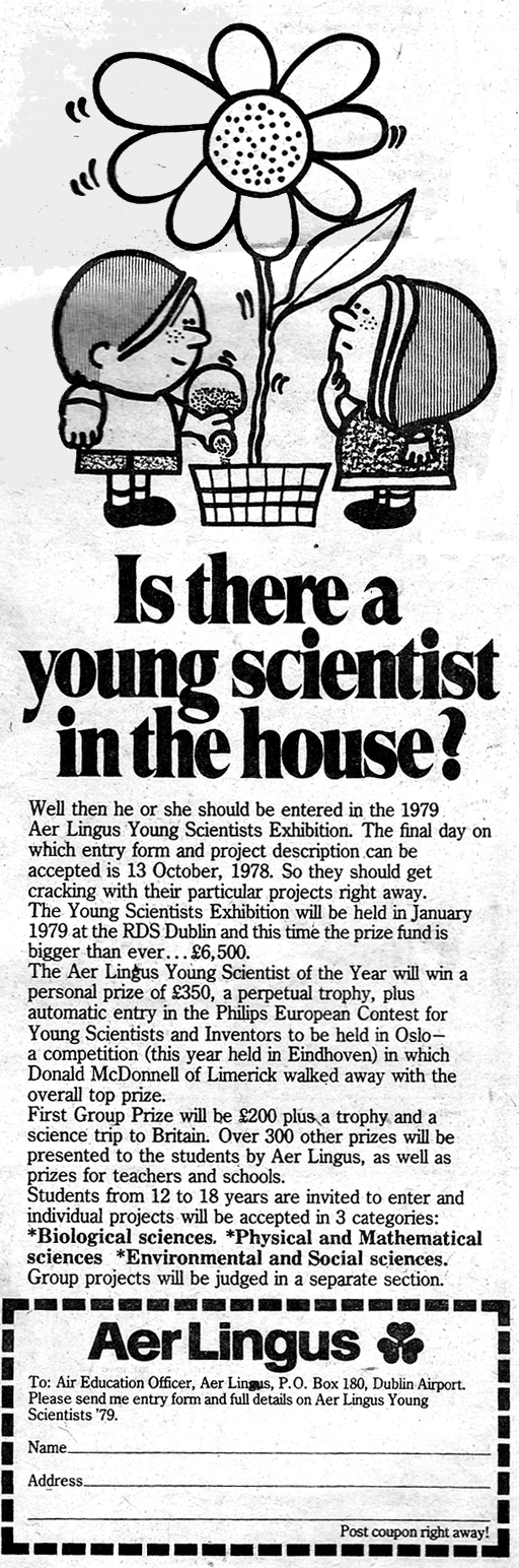 young scientist-ireland-advert-for-1978