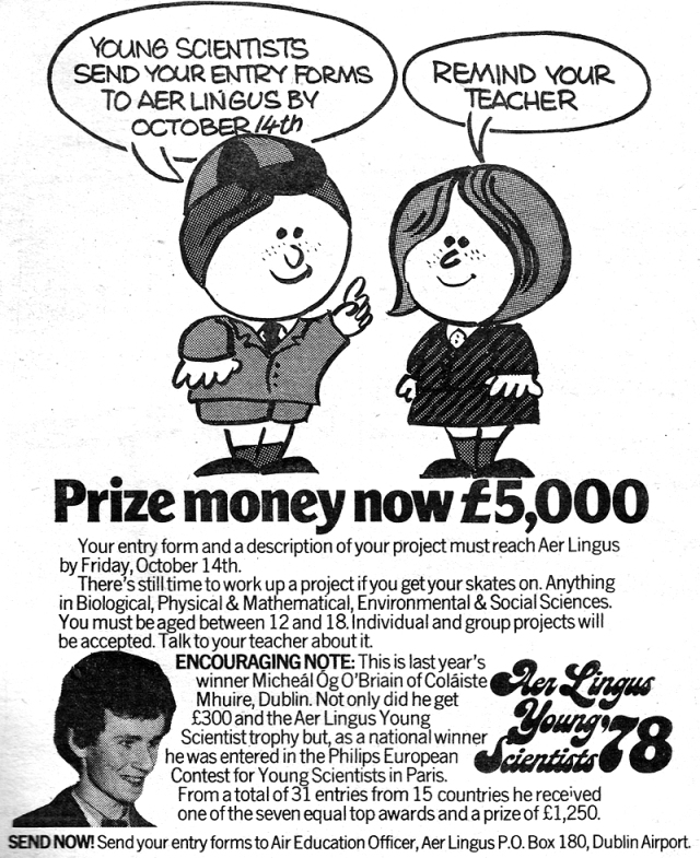 young scientist-ireland-advert-for-1979