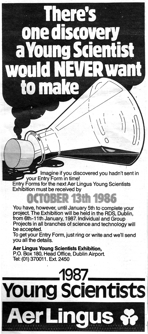young scientist-ireland-advert-for-1987