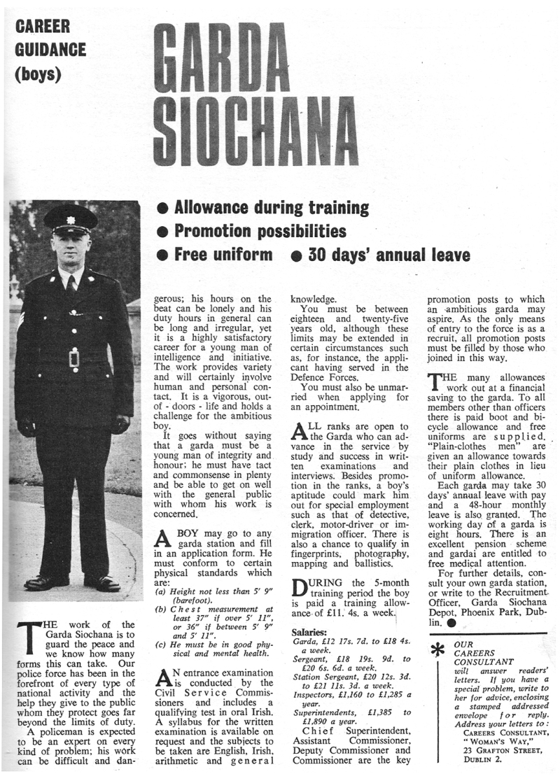 garda1966-careers guidance womans way
