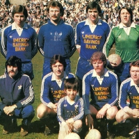 Limerick United FC with Joe O'Mahony (RIP) - Shoot Magazine 1980