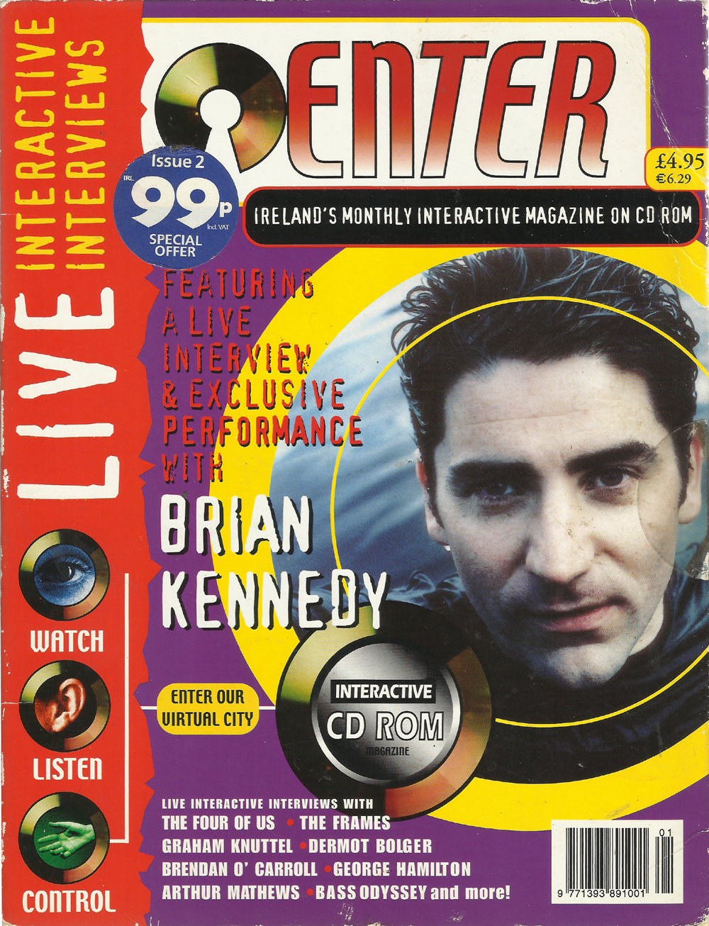 Ireland's Monthly Interactive Magazine on CD Rom -Enter-2000