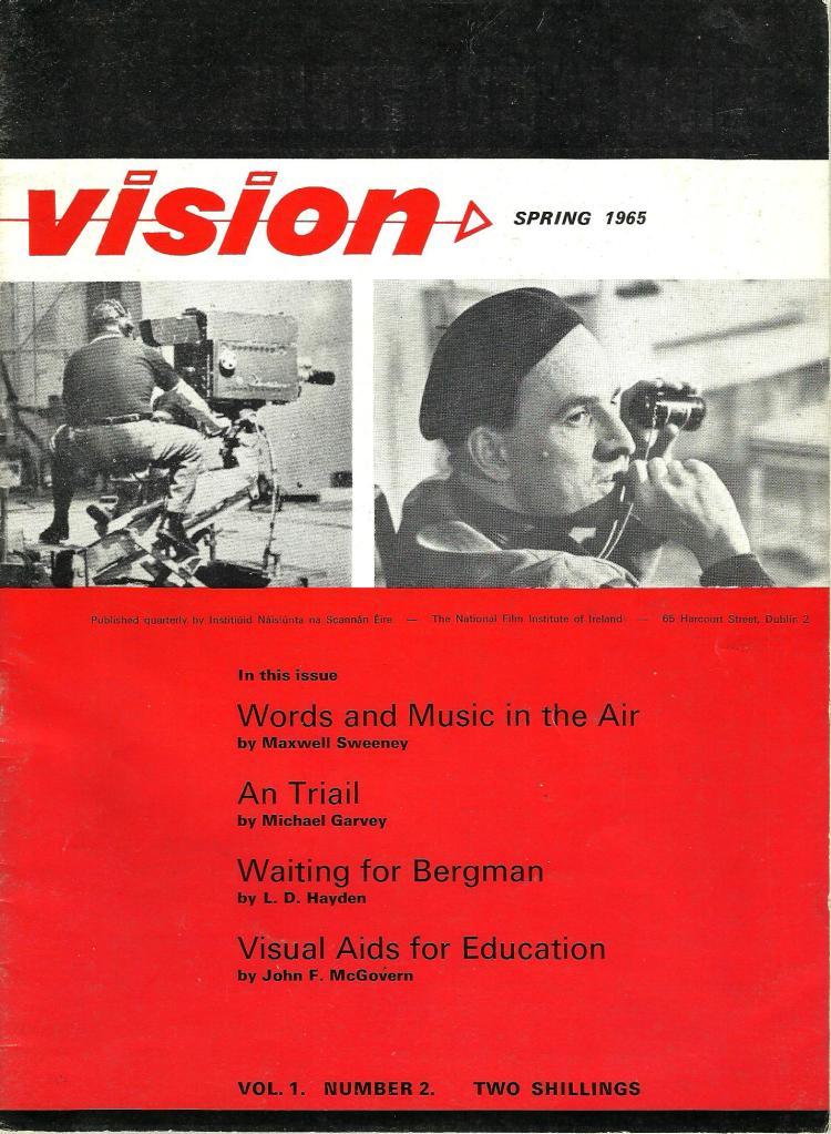 vision vol 1 no 2  spring 1965