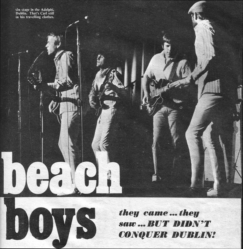 Beach Boys Adelphi Dublin 1967