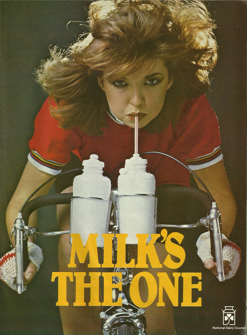 milk's the one advert 1982