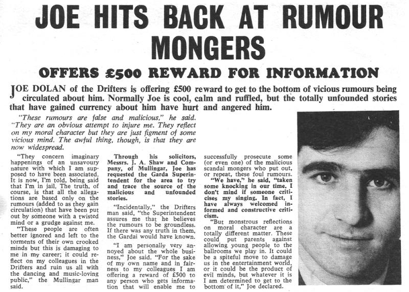 joe-dolan hits back at romour mongers
