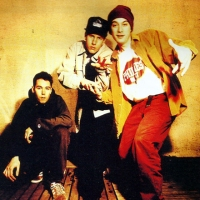 Beastie Boys Backstage in Belfast - d-Side Magazine April 1995