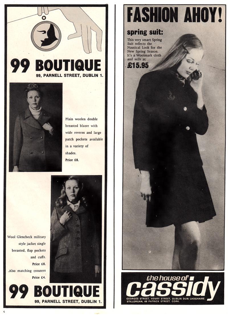 99 boutique Parnell st D1