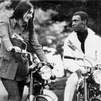 Desmond Dekker with Miss Ireland in Phoenix Pk, 1969
