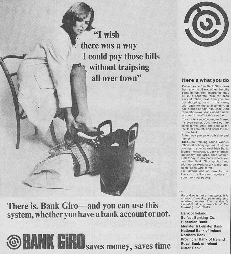 bank giro ireland 1969