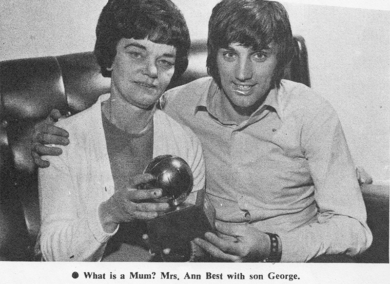 Ann-Best with George-Best-Belfast