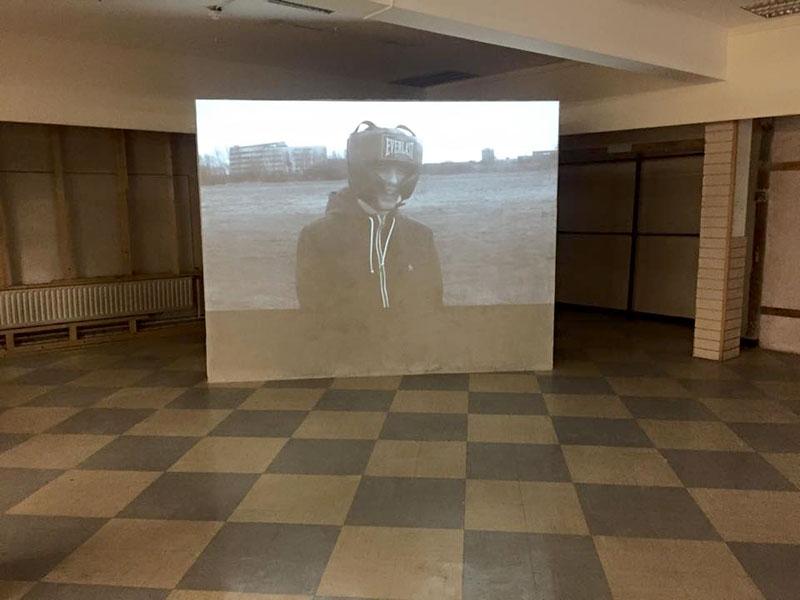 David Balfe's video North MFA Fine Art