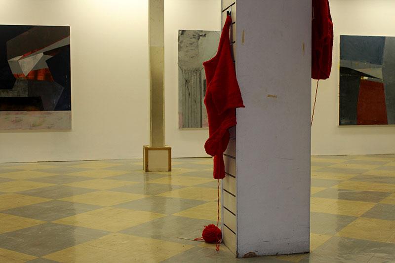 wool - Rici Ni Cleirigh  Paintings - Jules Michael