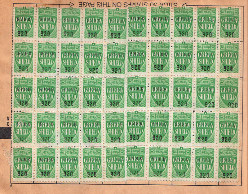 green-shield-stamps