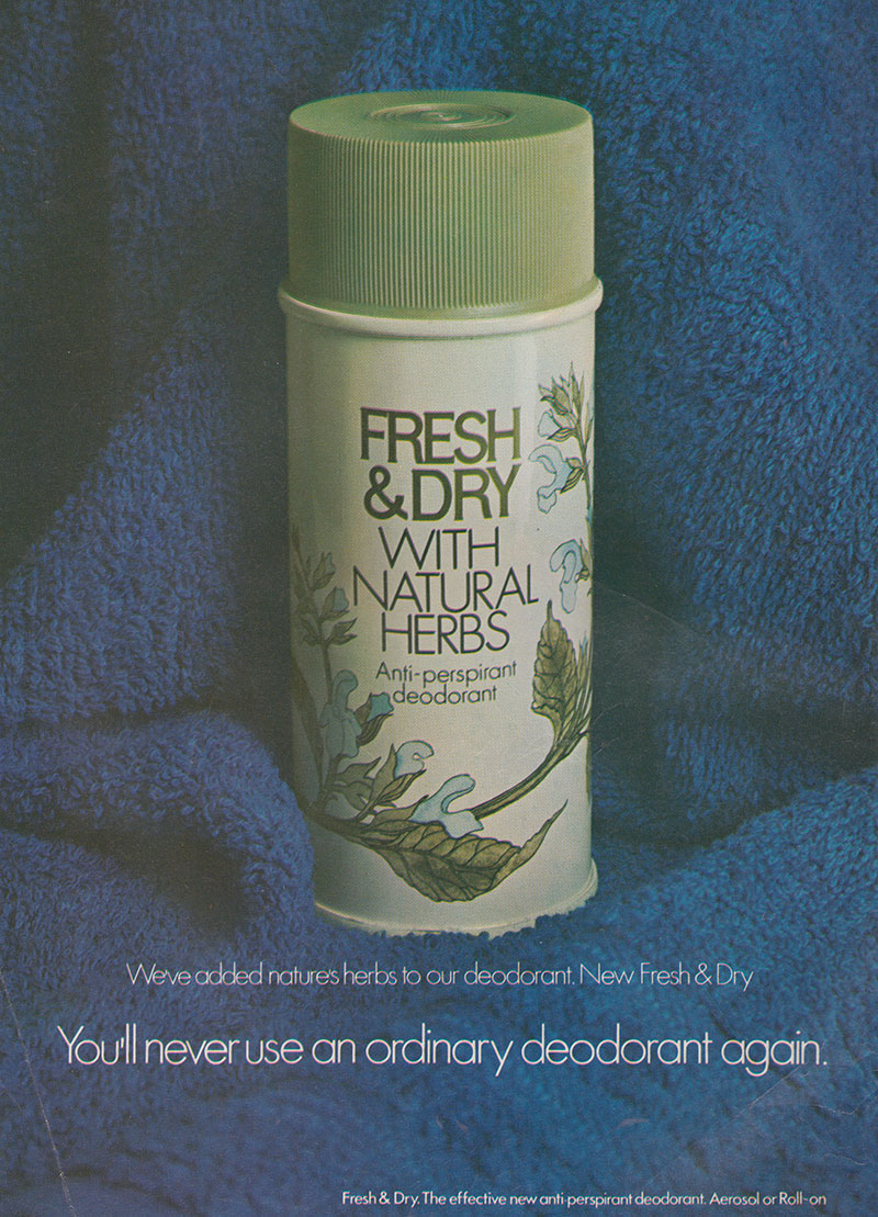 1972- Woman's way - Fresh & Dry