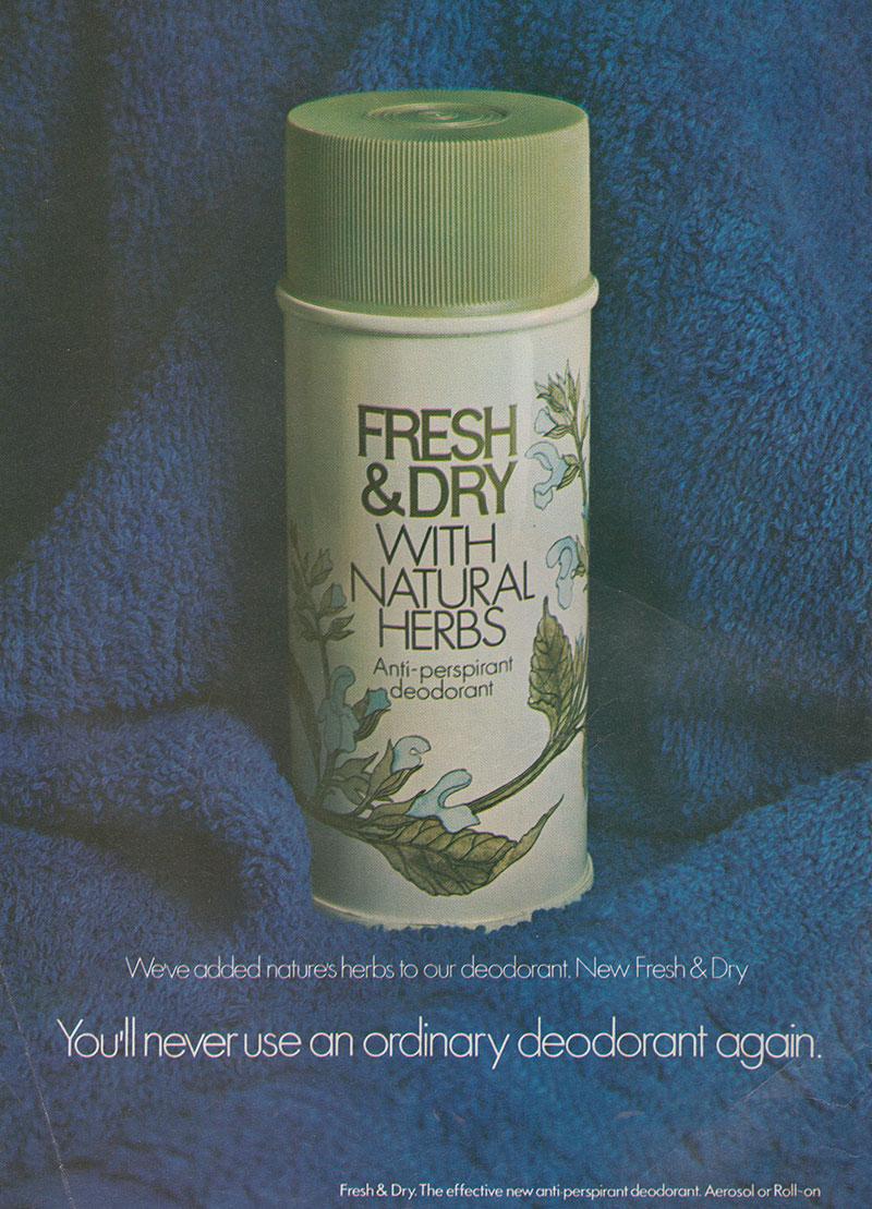 1972- Woman's way - Fresh & Dry