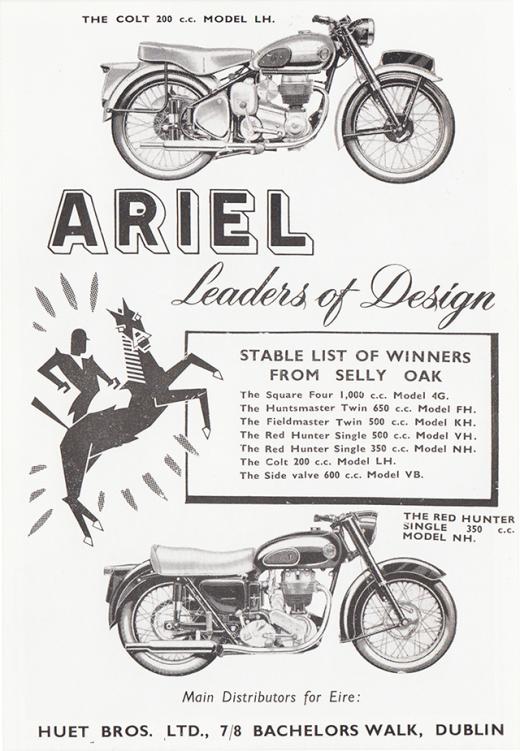 ariel-motor-cycle-huet-bros-dublin