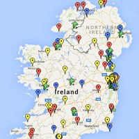 Map - Scans pinned to location