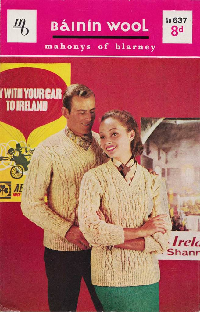 5 Irish Wool Knitting Patterns from early 1960s – Brand New Retro