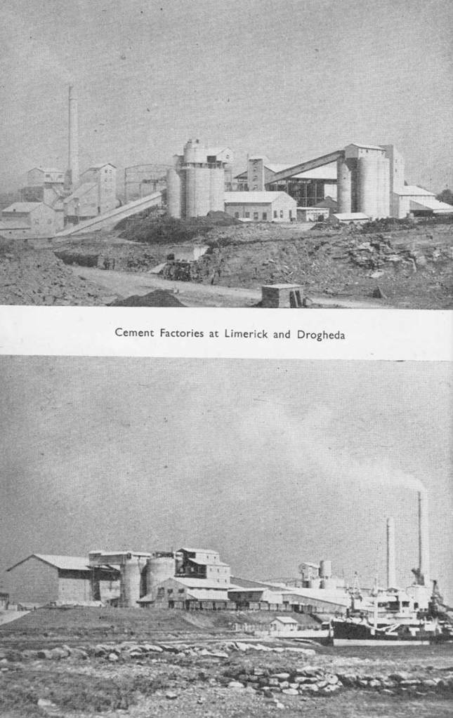 cement factories Limerick and Drogheda