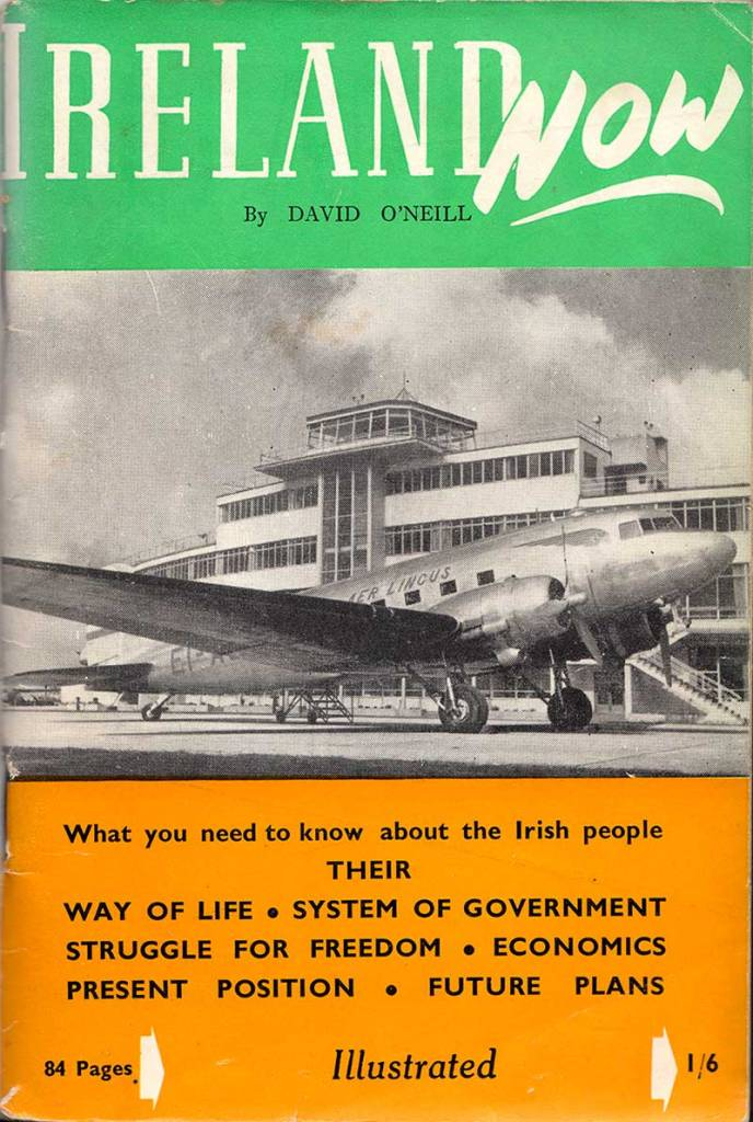 cover of Ireland Now booklet by David O'Neill