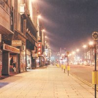 O'Connell St at Night,  1988